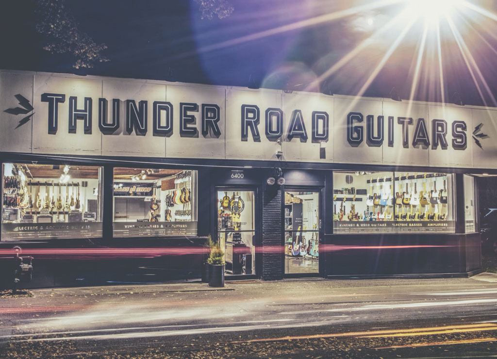 Thunder Road Guitars Storefront